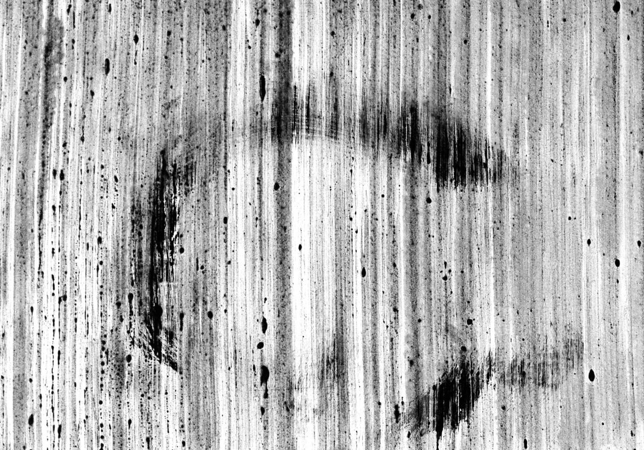 587, 2015 smalto su cartoncino 28x40 cm