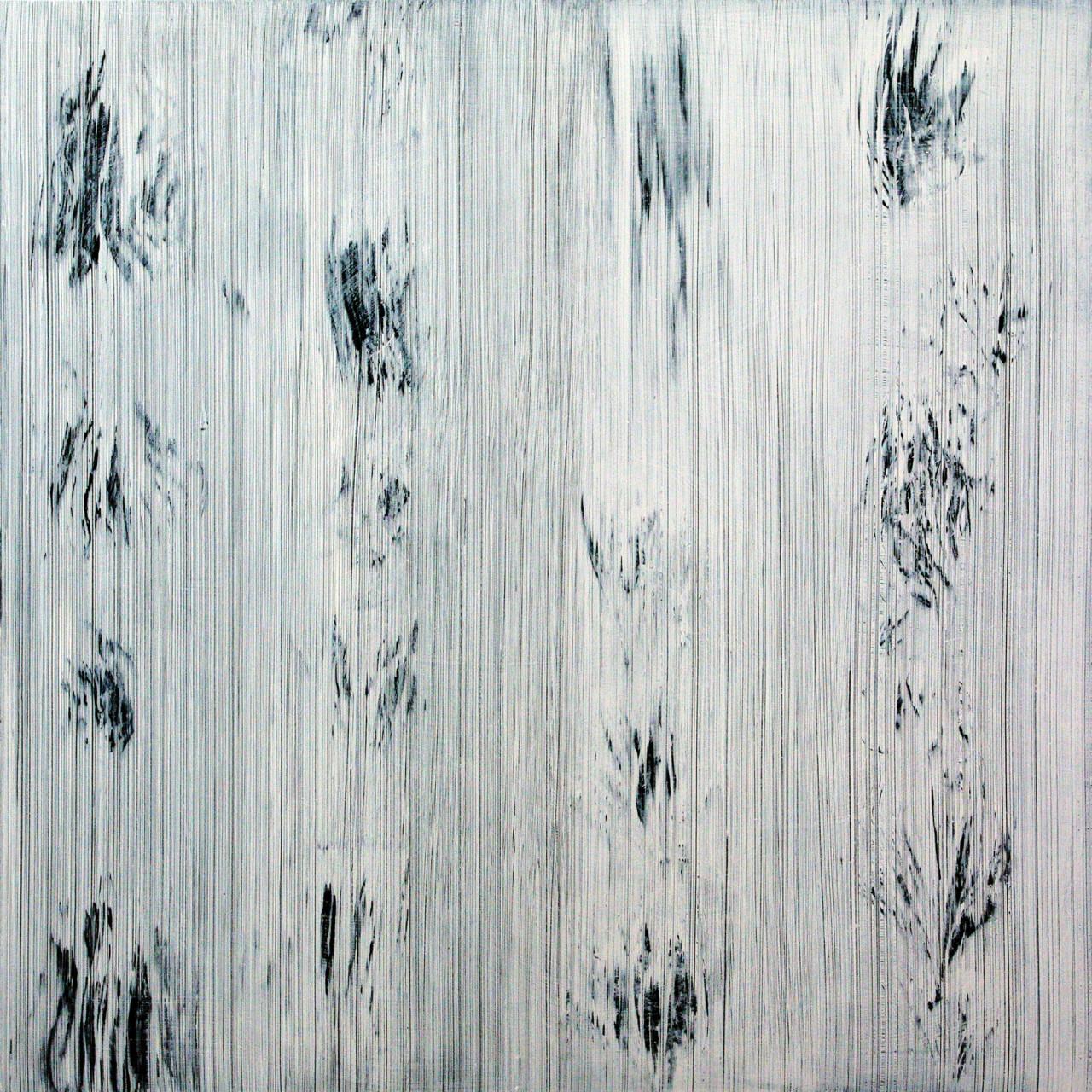 595, 2015 olio su alu-dibond 100x100 cm