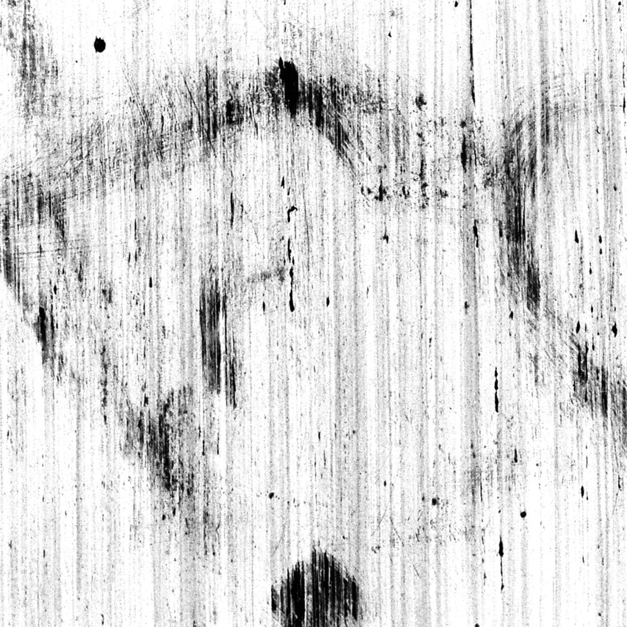 610, 2015 smalto su cartoncino 23x23 cm