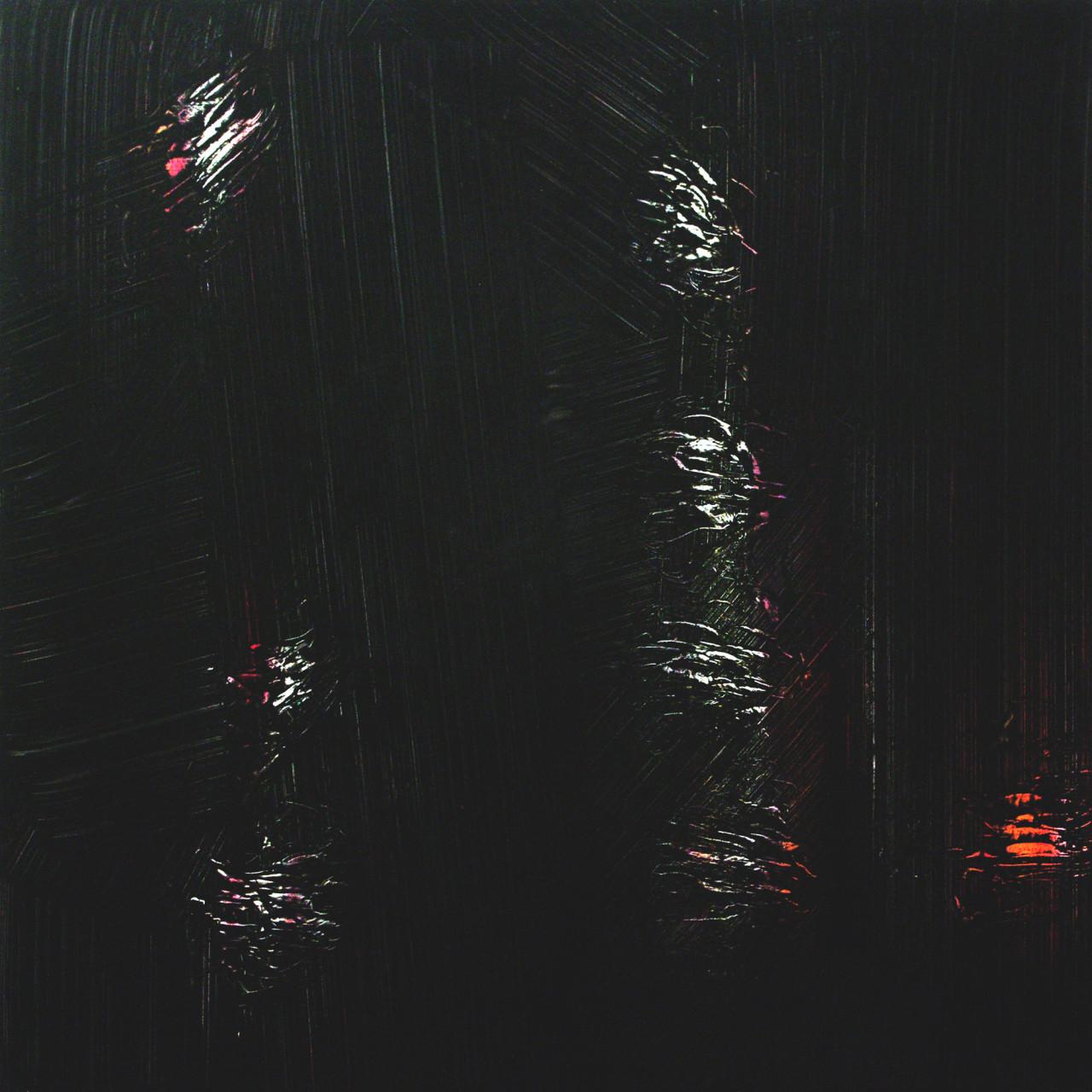 618, 2015 olio su alu-dibond 100x100 cm