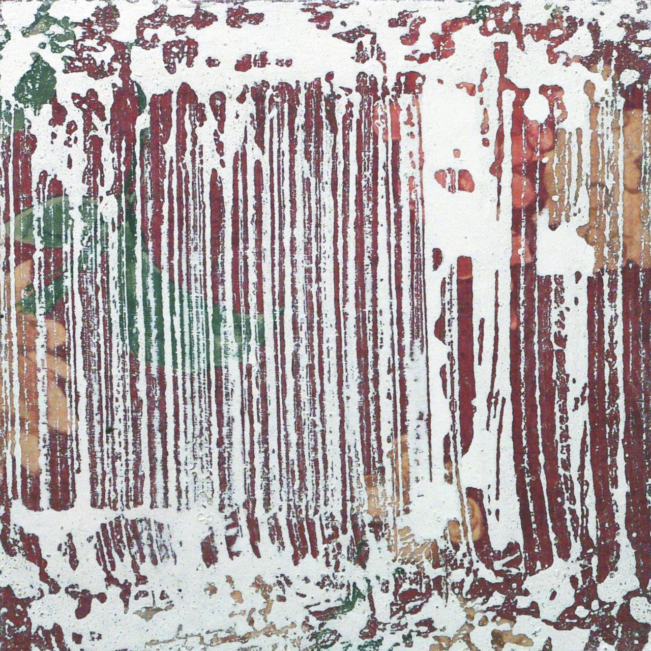 623.5, 2015 tecnica mista su tavola 23x23 cm