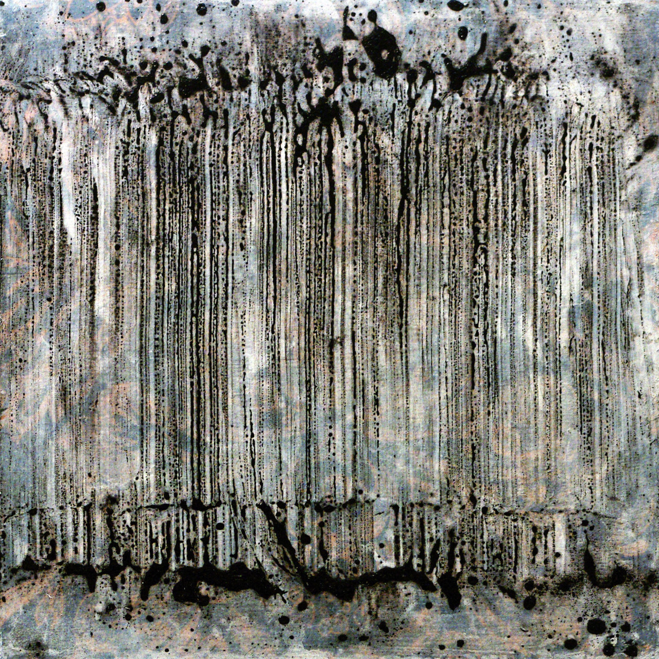 629, 2015 tecnica mista su tavola 30x30 cm