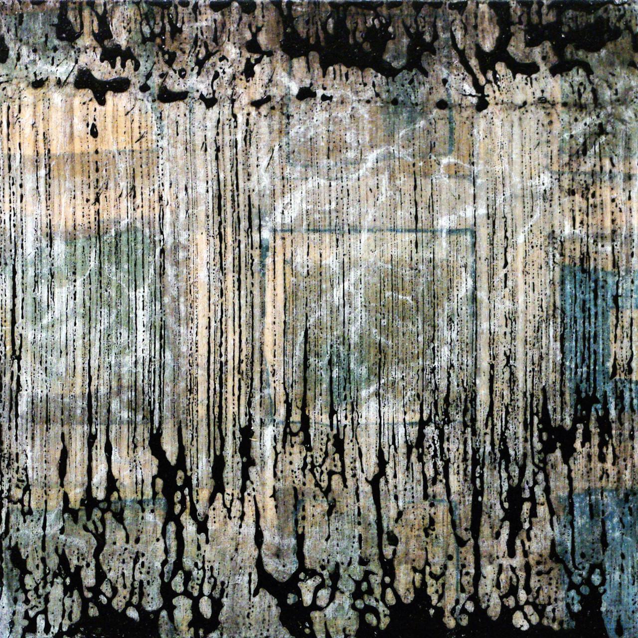 630, 2015 tecnica mista su tavola 30x30 cm