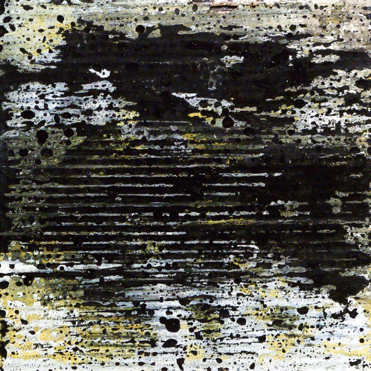 650, 2015 olio e smalto su cartone su tavola 30x30 cm