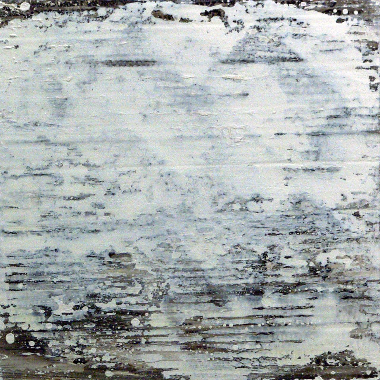 655, 2015 olio e smalto su cartone su tavola 30x30 cm
