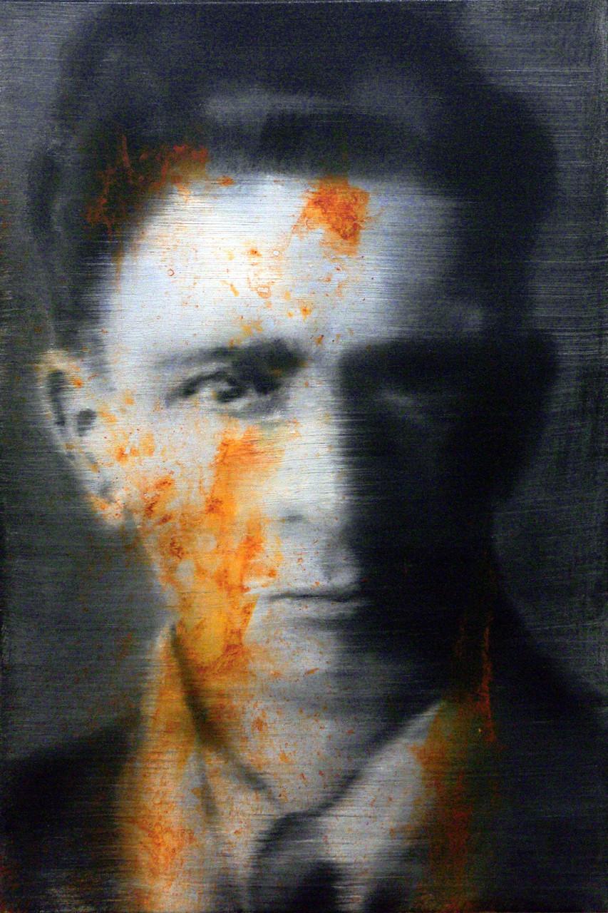 Guido Galimberti (Barbieri), 2015, olio su tela 60x40 cm