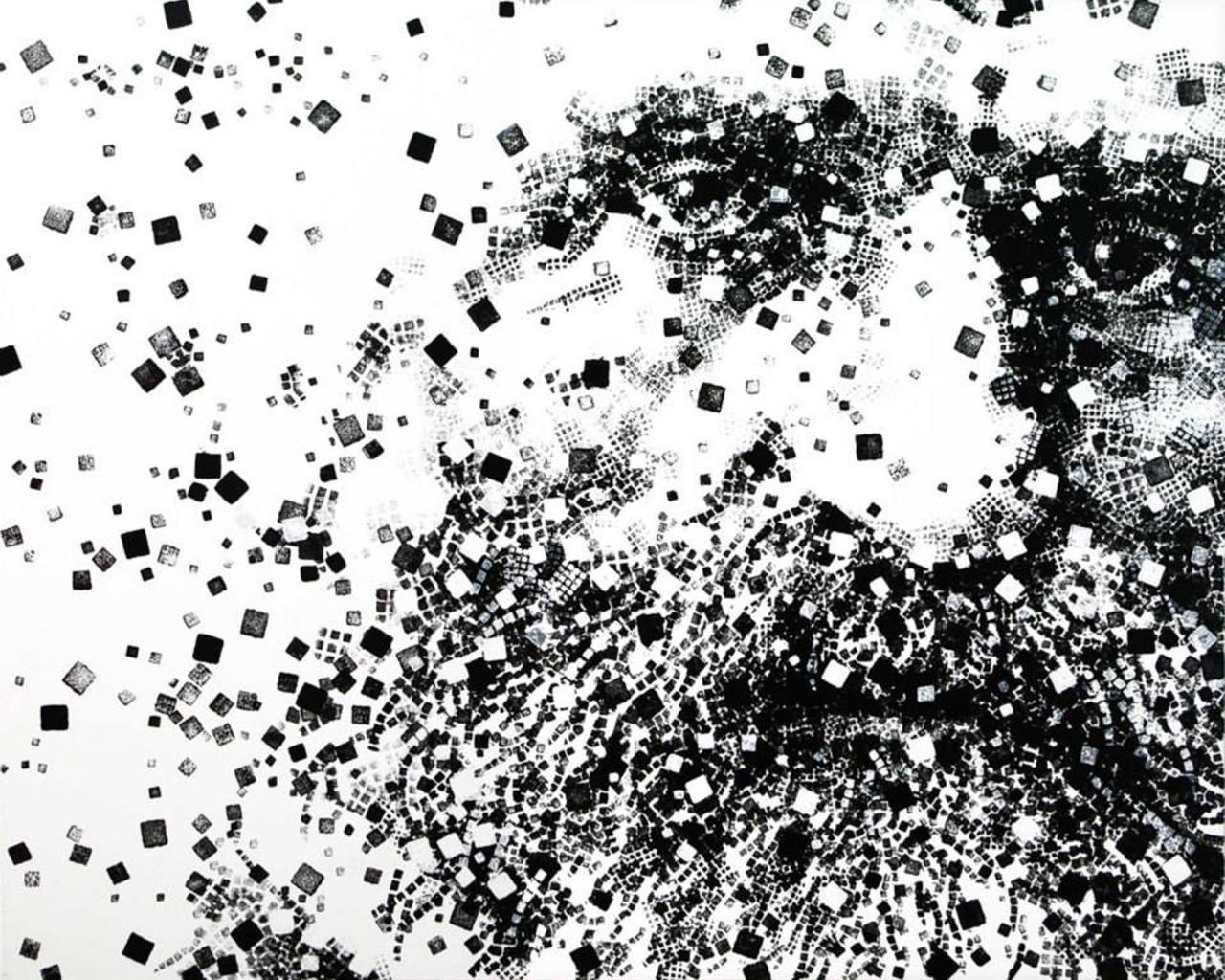 Omaggio a Giuseppe Verdi, 2013, acrilico su tela 105x130 cm