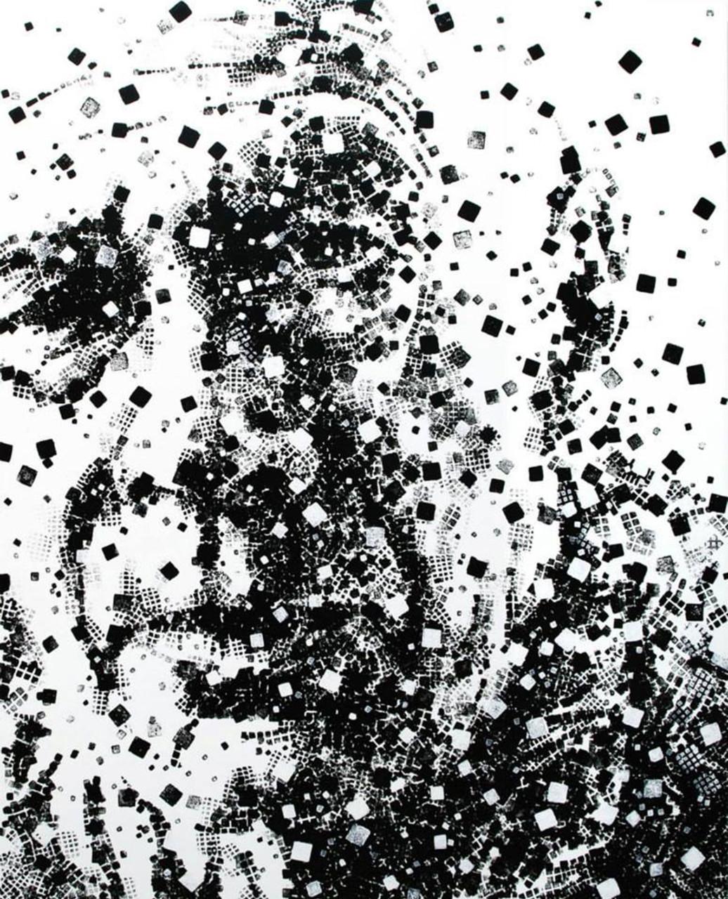 Omaggio a Henry Miller, 2013, acrilico su tela 130x105 cm