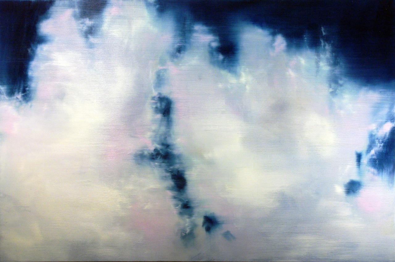 Cielo 5, 2012, olio su tela 100x150 cm