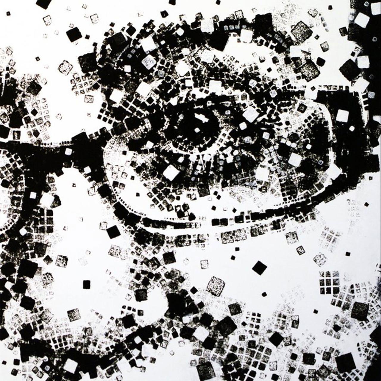 Studio per ritratto di Francesca, 2011, tecnica mista su tavola 50x50 cm
